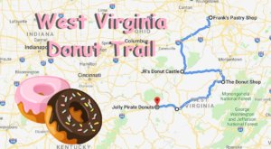 Take The West Virginia Donut Trail For A Delightfully Delicious Day Trip