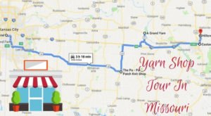 This Yarn Shop Tour Takes You To 5 Amazing Stores In Missouri In One Day