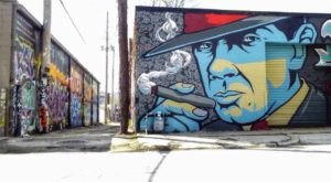 Missouri's Graffiti Alley Is A Unique Place To Visit