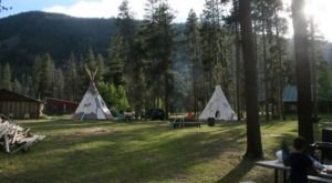 Spend The Night Under A Teepee At Arapaho Valley Ranch In Colorado