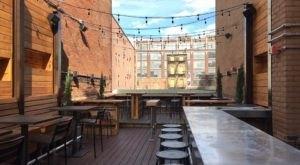 Eat Cheeseburgers On The Rooftop Patio Of Krueger's Tavern In Cincinnati