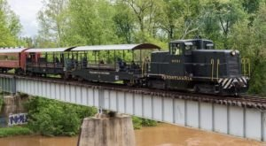 This Open Air Train Ride In Maryland Is A Scenic Adventure For The Whole Family