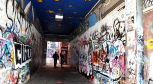 This Graffiti Alley Near Detroit Is A Unique Place To Visit
