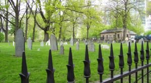 Central Burying Ground Is One Of Massachusetts' Spookiest Cemeteries
