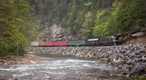 This West Virginia Train Ride Is The Most Breathtaking Way To Chase A Waterfall