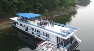 Rent Your Own Two-Story Party Boat In Arkansas For An Amazing Day On The Water