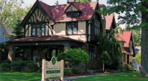 This Victorian Tudor Inn Just Might Be The Most Charming Place You Can Stay In All Of Ohio
