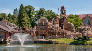 Iowa's Magnificent Shrine And Grotto Is Truly A Work Of Art