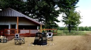 Spend The Night In A Luxury Tent Surrounded By Elk And Deer At This Wisconsin Nature Preserve