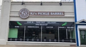 You'll Relish A Trip To KJ's Pickle Barrel, A Pickle-Themed Restaurant In Pennsylvania
