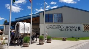 Dine In A Covered Wagon And Step Back In Time At This Immersive Museum In Idaho