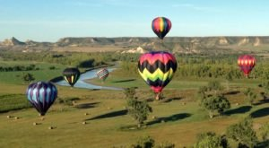 Watch The Sky Fill With Color At The Medora Hot Air Balloon Rally And Kite Fest In North Dakota