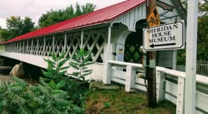 Enjoy Dinner Served On The Ashuelot Covered Bridge In New Hampshire For One Special Evening Only