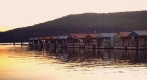 Camp Right On The Water At Hales Bar Marina And Resort, A Unique Floating Campsite In Tennessee