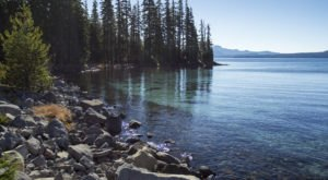 Get Away From It All At This Crystal Clear Lake In Oregon