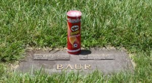 Fredric J. Baur, Maker Of The Pringles Can, Was Buried Inside His Invention In Cincinnati