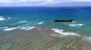 These 8 Fascinating Photos Show Hawaii's Most Unique WWII Shipwreck In A New Way