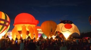 This Magical Hot Air Balloon Glow In Louisiana Will Light Up Your Summer