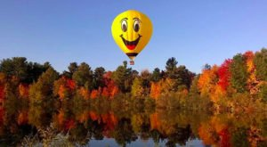 See New Hampshire From A Whole New Height With This Affordable Hot Air Balloon Trip