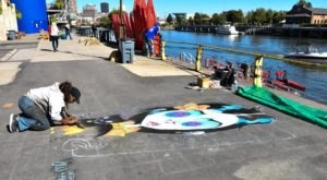 The Colorful Chalk Festival That's Coming To Buffalo Is Unlike Any Other