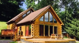 Outdoor Enthusiasts Will Love A Getaway At Harman's Log Cabins In West Virginia