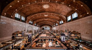 The Unassuming West Side Market Stand That Has Served Bratwurst Sandwiches For Decades