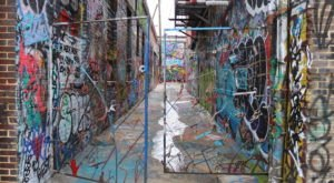 Maryland's Graffiti Alley Is A Unique Place To Visit