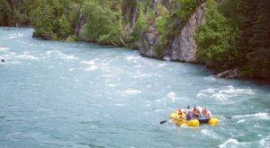 Float The Easy Rapids Of This Stunning Blue River In Unspoiled Alaska Wilderness