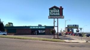 Everyone Loves The Hamburgers At The Nostalgic Wood House Restaurant In North Dakota