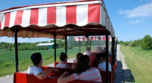 Hop Aboard Wisconsin's Cherry Train For Fun-Filled Tour Of Washington Island
