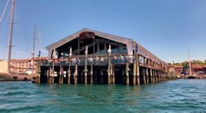 This Rhode Island Restaurant On Stilts Is The Ultimate Waterfront Dining Destination