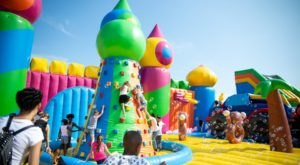 The World's Largest Bouncy House Is Coming To Cleveland And We Cannot Wait