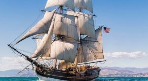Climb Aboard Washington's Official Ship For A Sensational Sailing Adventure