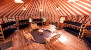Skip The Bugs And Sleeping Bags With This Unique New Hampshire Yurt Experience