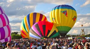 The Most Colorful Hot Air Balloon Extravaganza In Maine Takes To The Skies This Weekend