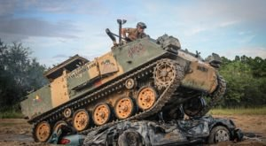You Can Crush Cars While Driving A Tank At This One-Of-A-Kind Attraction In Florida