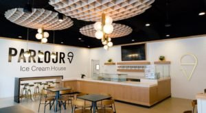 Stop By Parlour Ice Cream House, A Charming Ice Cream Shop With Delicious Hard Scoop In South Dakota