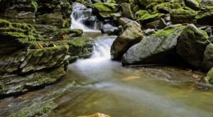 Slateford Creek Falls Trail In Pennsylvania Will Lead You Straight To The Lower Falls