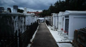St. Louis Cemetery No. 1 Is One Of New Orleans' Spookiest Cemeteries