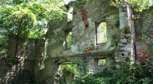The Ruins Of A Winery From Just After The Civil War Hide On An Island Near Cleveland