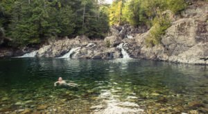 Hike To An Emerald Lagoon On This Easy Trail In New York