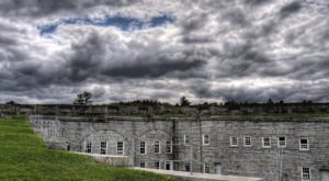 Scare Yourself Silly At This Weekend Ghost Camp In A Historic Maine Fort