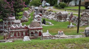 North Carolina's Rock Garden And Grotto, Shangri La Is A Work Of Art