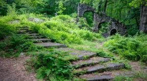 Hike This Stairway To Nowhere In New Hampshire For A Magical Woodland Adventure