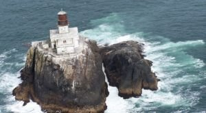 You Can't Visit The Tillamook Rock Lighthouse In Oregon, But Its Tumultous History Is Fascinating
