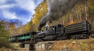 The Open-Air Train Ride On The Cass Scenic Railroad In West Virginia Is An Adventure For The Whole Family