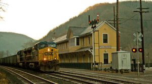 Thurmond Station In West Virginia Is One Of The Least Used Train Stations In The U.S.