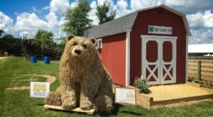 Come See The Straw Sculptures At This Unique Harvest Festival In Illinois