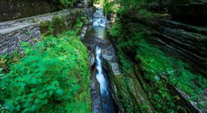 The Deep Green Gorge In New York That Feels Like Something Straight Out Of A Fairy Tale