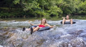 The River Campground In Massachusetts Where You'll Have An Unforgettable Tubing Adventure